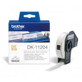 Etykiety Brother DK-11204 17mm x 54mm NOWE! ORYGINALNE! -KURIER 15zł!