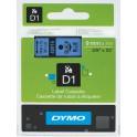 Etykiety, taśma DYMO D1 9mm - S0720710 (40916) taśma niebieska, nadruk czarny -KURIER od 15zł!