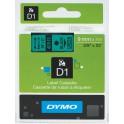 Etykiety, taśma DYMO D1 9mm - S0720740 (40919) taśma zielona, nadruk czarny -KURIER od 15zł!