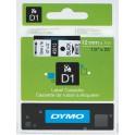 Etykiety, taśma DYMO D1 12mm - S0720530 (45013) taśma biała, nadruk czarny -KURIER od 15zł!