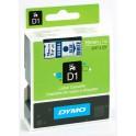 Etykiety, taśma DYMO D1 19mm - S0720840 (45804) taśma biała, nadruk niebieski -KURIER od 15zł!