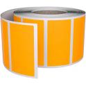 etykiety termotransferowe pomarańczowe 50x30 /1000