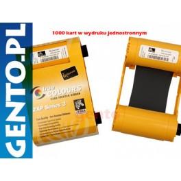 Zebra ZXP 3 taśma CZARNA na 1000kart 800033-801 ZXP3 -KURIER od 15zł!