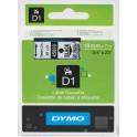 Etykiety, taśma DYMO D1 19mm - S0720820 (45800) taśma przezroczysta, nadruk czarny -KURIER od 15zł!