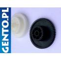 Zestaw kół zębatych napędowych do Zebra ZT230, ZT220, 203DPI