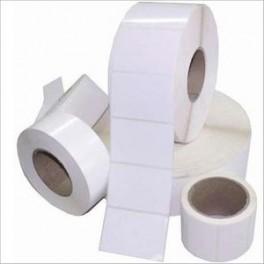 etykiety foliowe białe 70x35 /1000 polipropylen